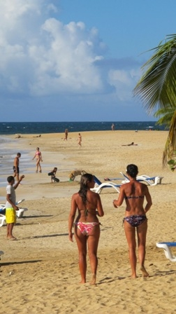Секс на пляже в доминикане запрещен