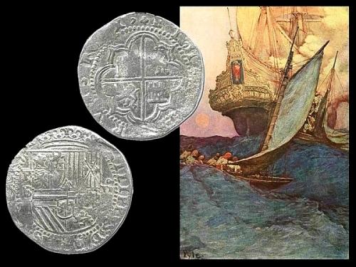Доминиканская Республика клады золото серебро монеты