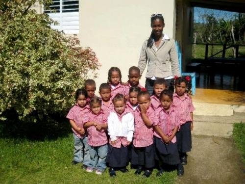 школы детские сады в Доминикане дети образование