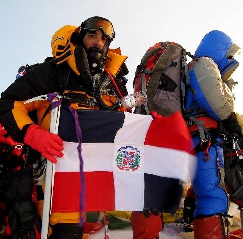 Доминикана горы туризм альпинизм флаг