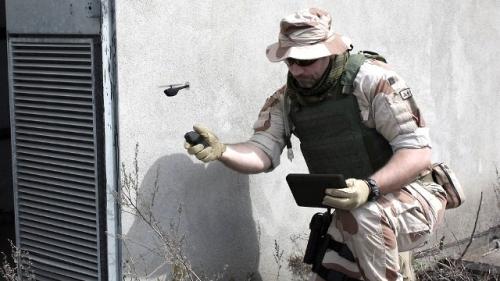 Доминикана Drone охрана карты