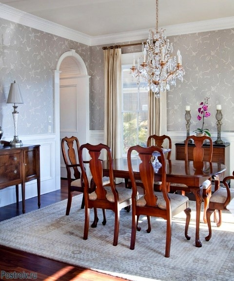 Traditional home dining rooms